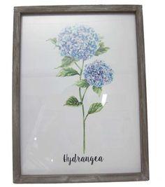 Wild Blooms Wall Decor-Hydrangea