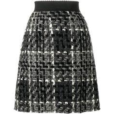 Dolce & Gabbana mini flounce skirt ($330) ❤ liked on Polyvore featuring skirts, mini skirts, black, short mini skirts, yoke skirt, short skirts, high waisted skirts and elastic waist skirt