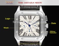 Jargar mens automatic watches men luxury brand genuine leather discount watches custom watches reloj -Forsining Watch Company Limitedwww.forsining.com