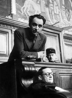 The trial of Dr Marcel Petiot, the serial killer who lured Jews into his home with promises of a safe passage from France to South America during World War II. He then murdered them, stole their belongings and burnt their bodies. (Photo by Keystone/Getty Images)