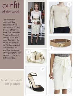 Outfit of the Week: Ladylike Silhouette