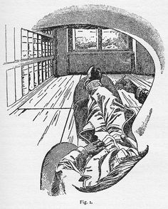 Ernst Mach, Figure One from The Analysis of Sensations, 1897. (The first from self-observation)