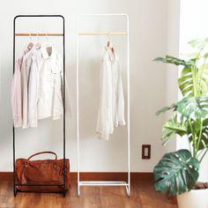 Rakuten: Coat hanger tower (hanger rack / coat rack / clothing storing / wardrobe / frame jacket hanger / slim / space /tower)-saving)- Shopping Japanese products from Japan