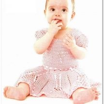Baby Crochet Patterns Part 26 - Beautiful Crochet Patterns and Knitting Patterns Crochet Blanket Patterns, Baby Patterns, Knitting Patterns, Crochet For Kids, Crochet Baby, Vestidos Bebe Crochet, Beautiful Crochet, Beautiful Babies, Baby Hats