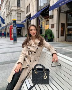 Burberry Trench, Lady Dior, Raincoat, Beige, Jackets, Tops, London, Projects, Fashion