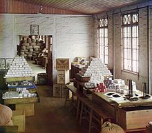 Tea weighing station north of Batumi Russian Empire before 1915. www.teacampaign.ca  Source: see below.
