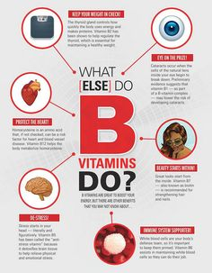 What else do B Vitamins Do?