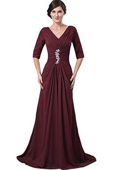 Sheath/Column V-neck Floor-length Taffeta Mother Of The Bride Dress (16) Crystal Dresses http://www.amazon.com/dp/B00M6RWQS4/ref=cm_sw_r_pi_dp_baz-tb02B7BF1