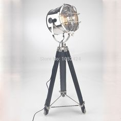 Ecolight European Style Tripod Searchlight Lamp Living Room Bedroom Table Lamp 2 Light #Affiliate