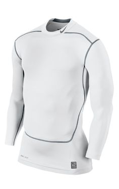 Nike Mock 2.0 Men s Long-Sleeved Core Compression Shirt Nike Pro Combat 68cd96f4f