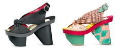 Kenzo shoes, inspired by Japanese geta sandals, are slightly crazy but ready for a good time.