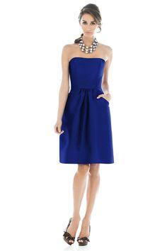 Blue+Bridesmaid+Dresses   ... cheap Royal Blue Simple Design Short Classy Bridesmaid Dresses Online