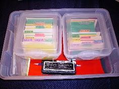 """""""Everything Box"""" for AAS: One way to organize All About Spelling materials"""
