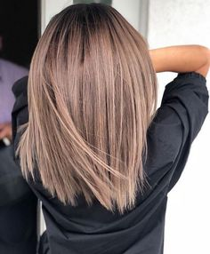 how to style baby girl hair - Hair Style Girl Brown Hair With Highlights, Brown Blonde Hair, Brown Hair Colors, Dark Hair, Brunette Hair Colors, Brunette Lob, Fall Blonde, Summer Highlights, Blonde Honey