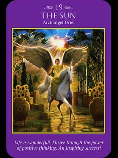 Archangel Uriel: Thrive through Power of Positive Thinking Archangel Uriel, Archangel Michael, Intuitive Empath, Signs From The Universe, Angel Guide, Angel Pictures, Angel Cards, Angels In Heaven, Practical Magic