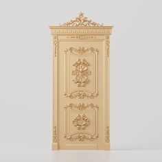 Carved door for CNC for production on CNC machines 3d Model Architecture, 3d Design, Cnc, Geometry, Carved Door, Carving, Doors, Interior Design, Columns