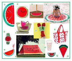 Vous aimez la pastèque? Ce fruit de l'été rafraichissant à souhait? Alors notre sélection shopping est faite pour vous! Watermelon, Diy, Birthday Cake, Fruit, Desserts, Blog, Shopping, Wish, Tailgate Desserts