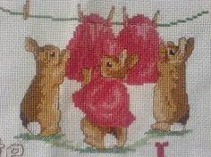 beatrix potter free cross stitch patterns - Google Search