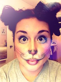 Mouse Face Makeup #mousecostume #halloween