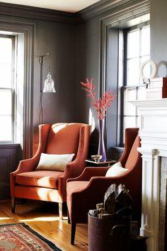 gray and orange idea