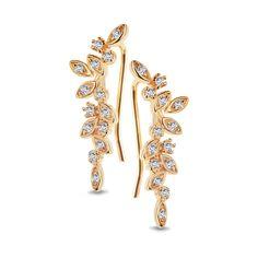 Unique - srebrne kolczyki - - YES Brooch, Unique, Bracelets, Gold, Jewelry, Earrings, Products, Fashion, Ear Rings