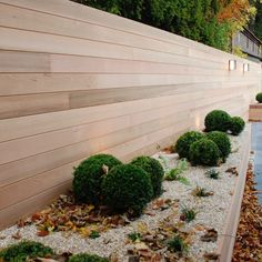 Gardens protect you not only from viewing, but also from unwanted … - Innen Garten - Eng Backyard Privacy, Ponds Backyard, Backyard Fences, Garden Fencing, Backyard Landscaping, Dream Garden, Home And Garden, Wood Fence Design, Garden Design Plans