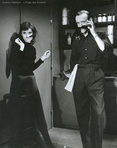 Audrey Hepburn & Fred Astaire