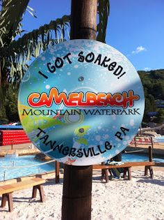 Camelbeach is the water park section of CamelBack Ski Mountain in Pennsylvania's Pocono Mountains and it's our favorite place for water play.