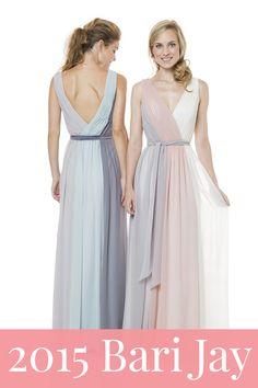 New Bari Jay bridesmaid dresses!