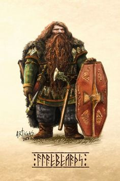 m Dwarf Fighter Med Armor Shield WarHammer Battle Axe ArtStation The seven houses of the Khazad by Sergio Artigas lg Fantasy Dwarf, Fantasy Rpg, Medieval Fantasy, Fantasy Artwork, Fantasy Character Design, Character Concept, Character Inspiration, Character Art, Fantasy Races