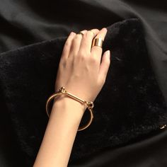 LYRE HOOK-ON BANGLE | Common Muse -  www.commonmuse.co