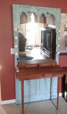 Old door vanity