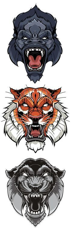 Animals Nail Desing e-art nail design budapest Graffiti, Animal Art, Animal Tattoos, Tattoos, Illustration, Art Drawings, Art Tattoo, Drawings, Tattoo Designs