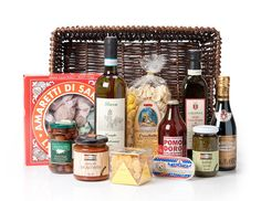 The Italian Basket ~ $190 A stylish selection of our favourite Italian flavours.