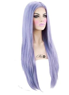 Heat safe synthetic Lace Front wig long density Made of soft synthetic fiber Can be styled with hot tools on a low-medium temperature Lace … Elegant Hairstyles, Weave Hairstyles, Pretty Hairstyles, Synthetic Lace Front Wigs, Synthetic Wigs, Powder Room D, Colors For Skin Tone, Hair Colors, Pretty Hair Color