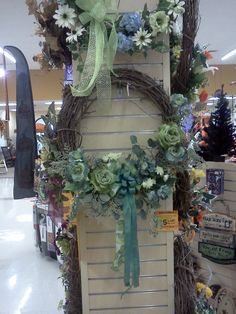 Custom designed #succulent wreaths are available at Stauffers of Kissel Hill #Garden Centers. www.skh.com.