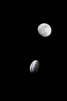 Moon and Rugby