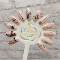 Nail Shapes - My Cool Nail Designs Love Nails, Pink Nails, Pretty Nails, Nail Drawing, Nail Art Designs Videos, Minimalist Nails, Stylish Nails, Perfect Nails, French Nails