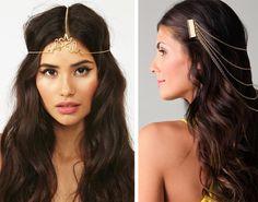 cadenas para el cabello - Buscar con Google