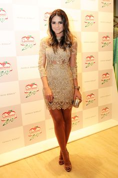 Thassia Naves wearing Patricia Bonaldi. In love with this dress.