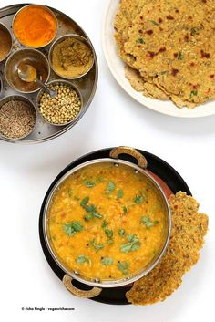 Dal Fry - Spiced Indian Lentil soup | Vegan Richa #vegan #glutenfree #soyfree #Indian #lentils