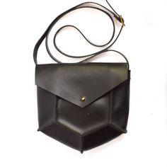 Mini Pentagon Crossbody Bag by CrowSLC on Etsy