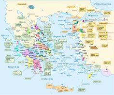 Η Ιλιάδα σε έναν χάρτη: Όλοι οι Ομηρικοί ήρωες και οι καταγωγές τους