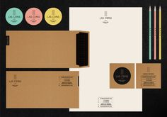 Branding - Las Cepas by Lia Martini, via Behance