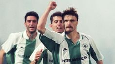 Krzysztof Warzycha-Panathinaikos FC 20 Gate, Football, Retro, Soccer, Futbol, Portal, American Football, Retro Illustration, Soccer Ball