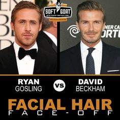 #malegrooming #shaving #sexyscruff #stubble #mensfashion #celebrities #Hollywoodhunks #RyanGosling #DavidBeckham