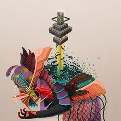 Mythical Beasts: Artworks by Flavio Martínez | Inspiration Grid | Design Inspiration