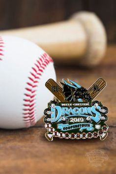 One team, one league! Bring your extra power and get the coolest #baseballpins for your team.😎
