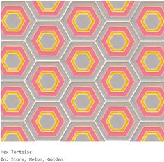 Erin Adams Hex Tortoise tile - LOVE