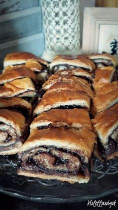 Gourmet Recipes, Sweet Recipes, Cookie Recipes, Dessert Recipes, Hungarian Desserts, Hungarian Recipes, Sweet Pastries, Baking And Pastry, Snacks